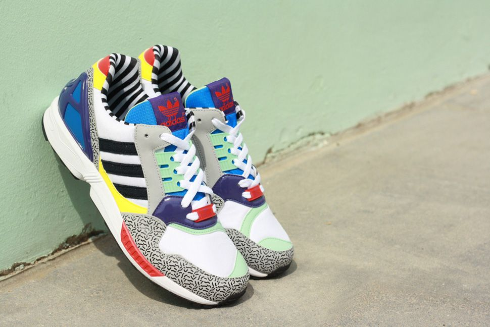 adidas ZX 9000 x Memphis Group Detailed Pictures | Sneakers