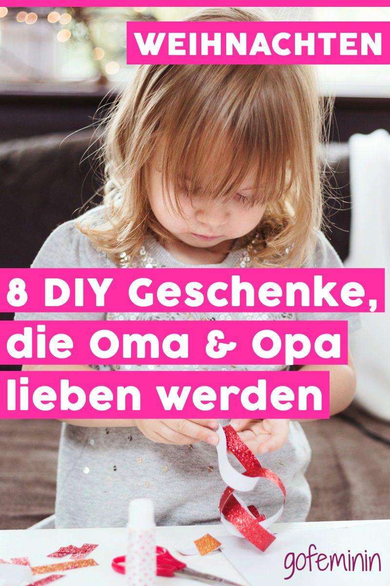 8 einfache DIY Kinder-Geschenke, über die sich Oma & Opa garantiert freuen