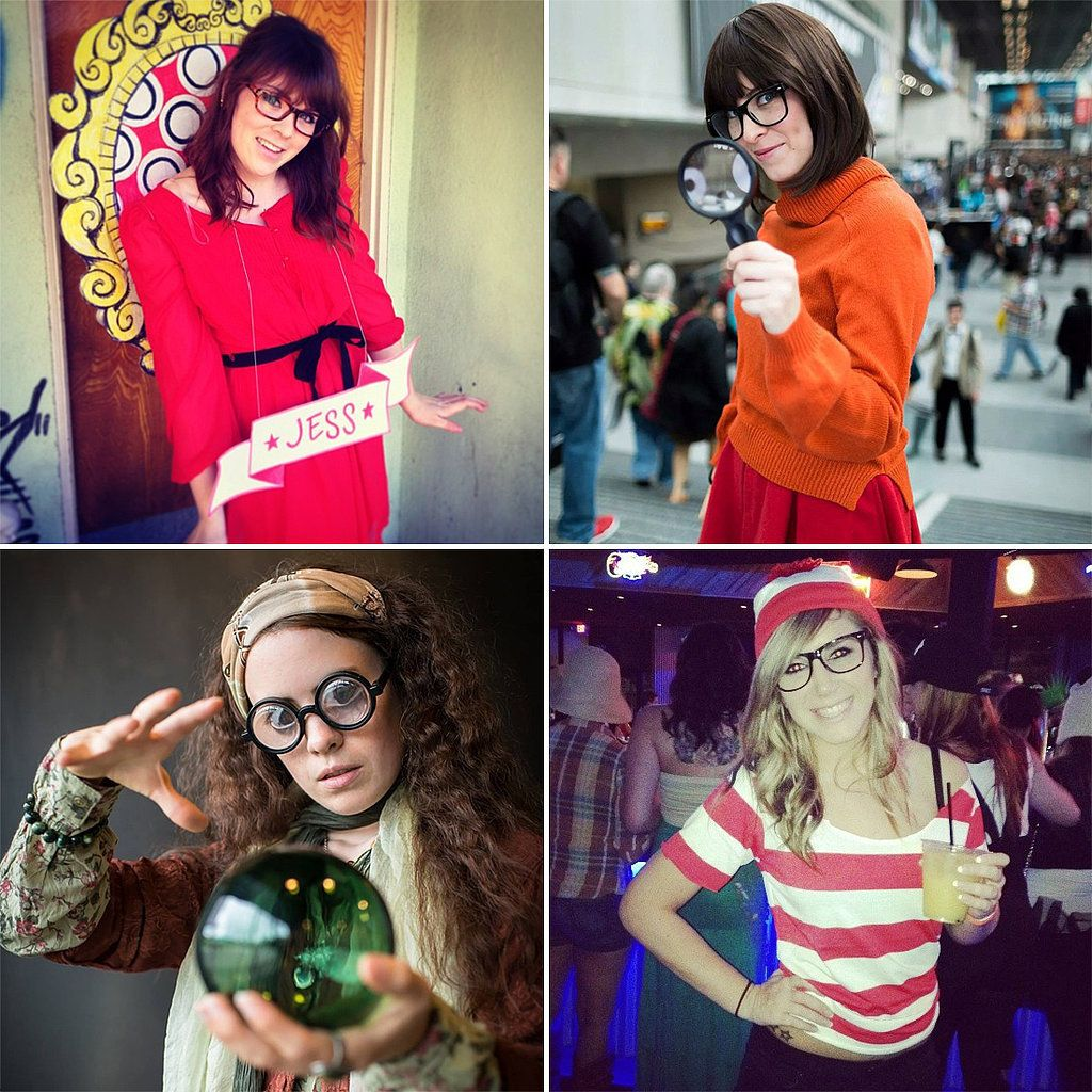 25 Costume Ideas For Girls With Glasses Halloween Inspiration