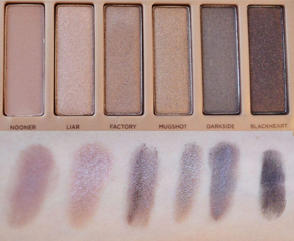 Naked 3 swatches - Part 2 http://lejoliblog.com/2014/04/06/naked-3-durban-decay-50-nuances-roses/