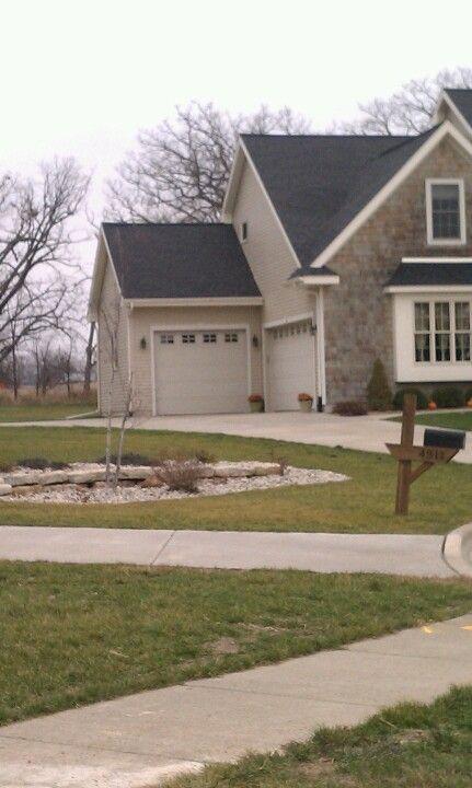 Flagstone Walkway To Front Door