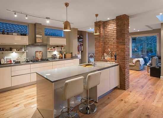 Howth House Extension And Renovation Modern Loft In 2019 Kitchen