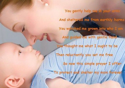 Day poem valentines mother 8 Valentine's