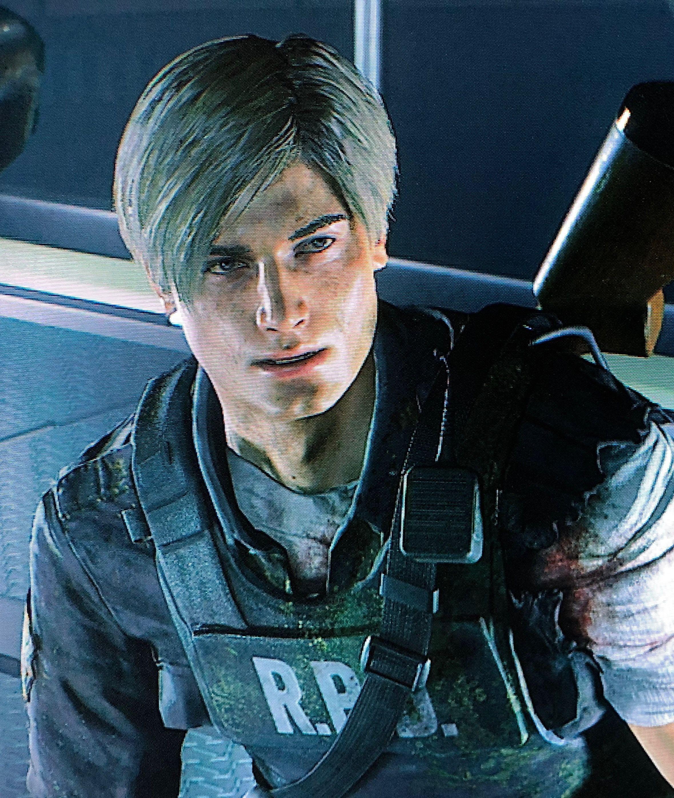 Omg His Face Resident Evil Leon Leon S Kennedy Resident Evil
