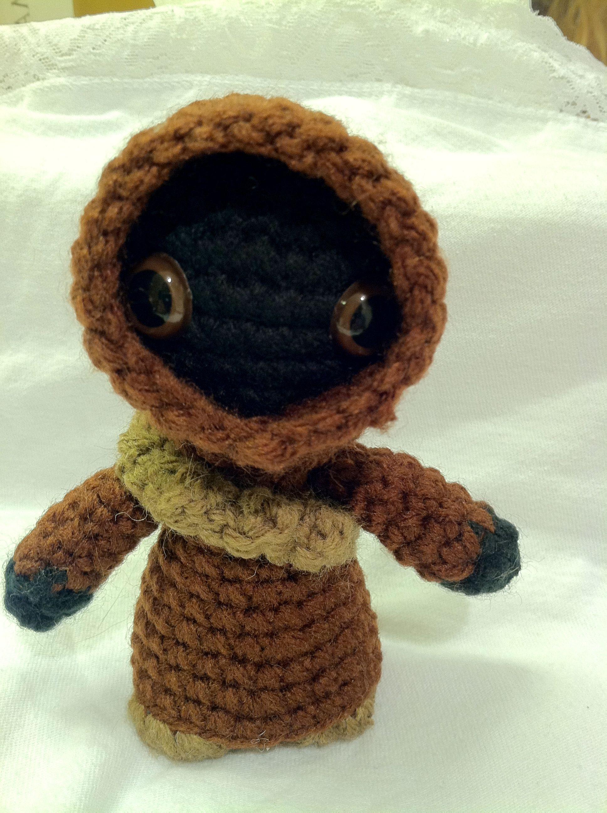 Jawa-Star Wars Mini Amigurumi - pattern by Lucy Ravenscar | Crochet ...