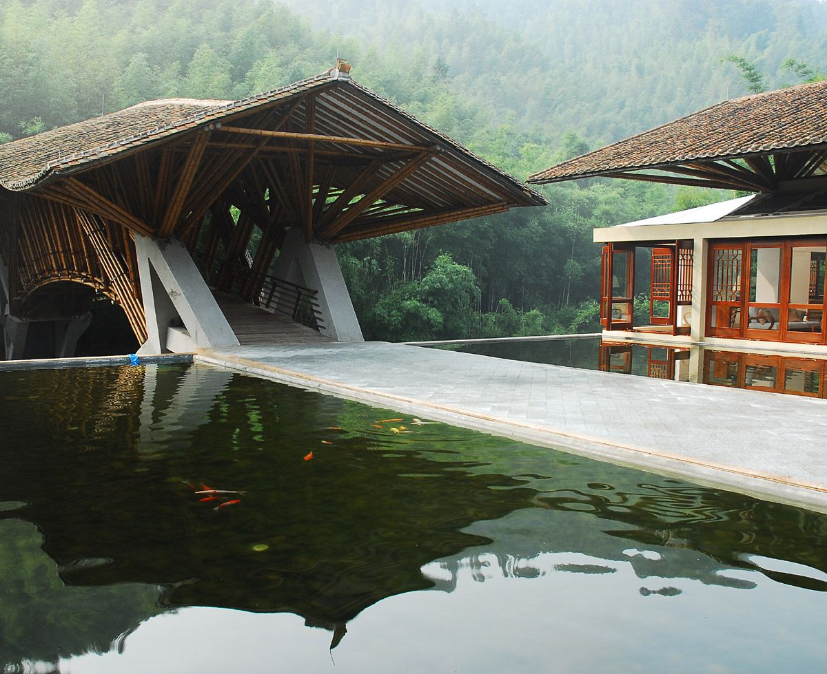 American Landscape Architects Announce 2010 Professional Awards Architecture Bamboo Building Bamboo Architecture