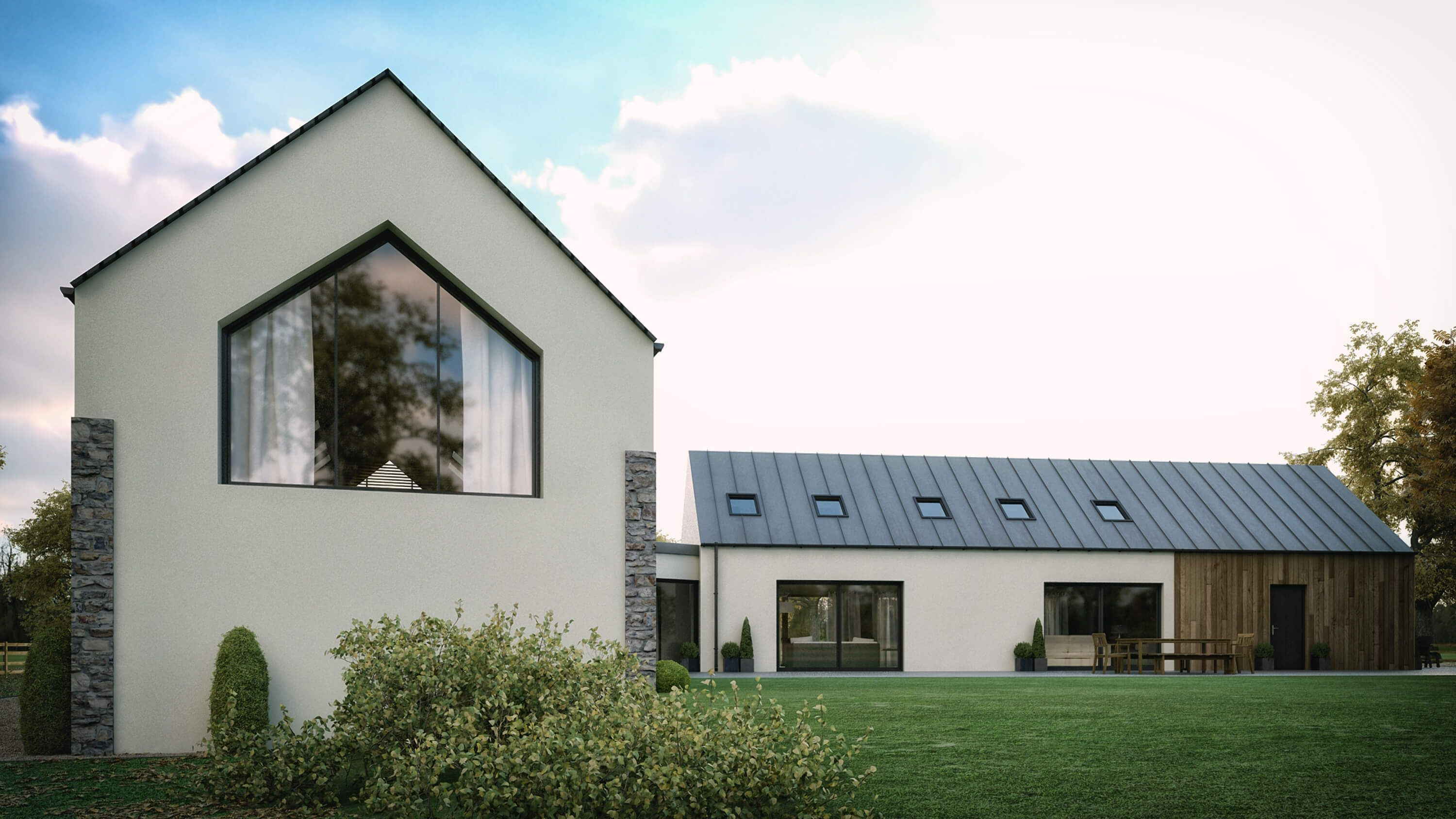 A Modern House In Straffan County Kildare To Suit A