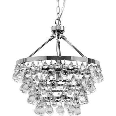 Wellyer Inc. Ceres 5 Light Crystal Chandelier | Accent Furniture ...