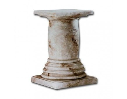 Faux Stone Pedestal Dining Table Base Pedestal Dining Table