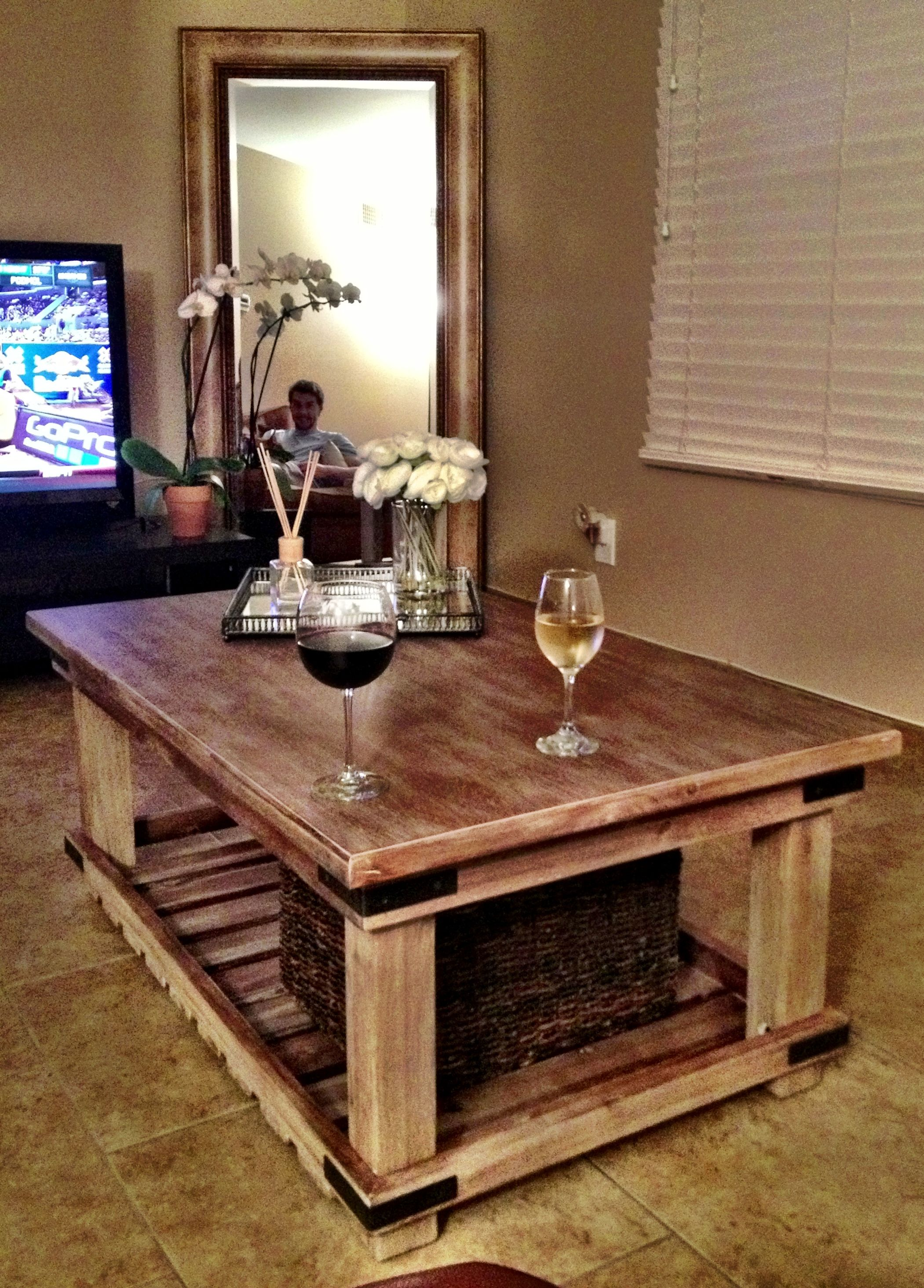 Rustic Wooden Coffee Table Coffee Table Rustic Coffee Tables Home Decor Tips [ 2929 x 2101 Pixel ]