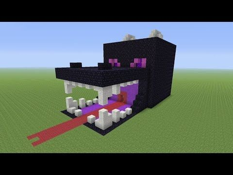 Minecraft Tutorial How To Make A ENDER DRAGON Survival House ASH - Minecraft haus bauen survival