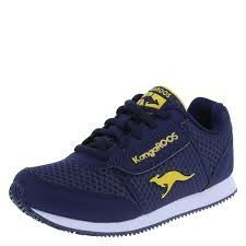Yellow Blue And For School Sneakers Navy Boys' Kangaroos KT31FJulc5