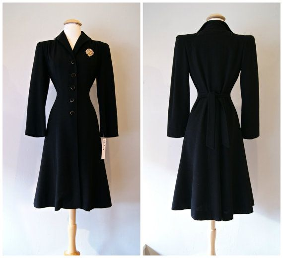 1930s Decade Vintage Coats & Jackets