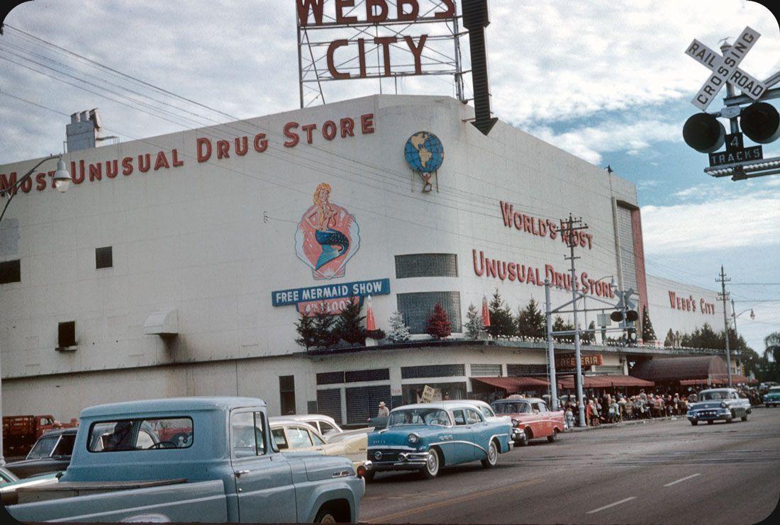 St. Petersburg, FL, 1958. Webb city, Pinellas county