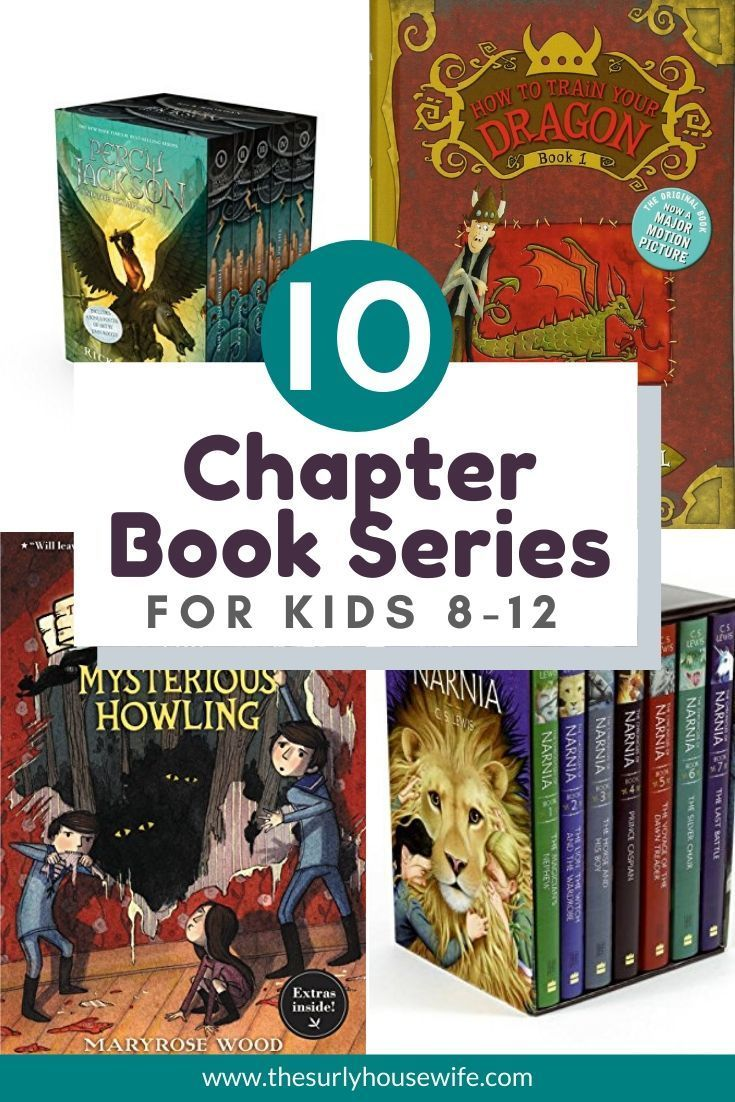 10 of the best chapter book series for kids 812 years old
