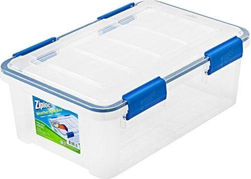 Ziploc Weathertight Storage Box Set X Small 6 Piece Set