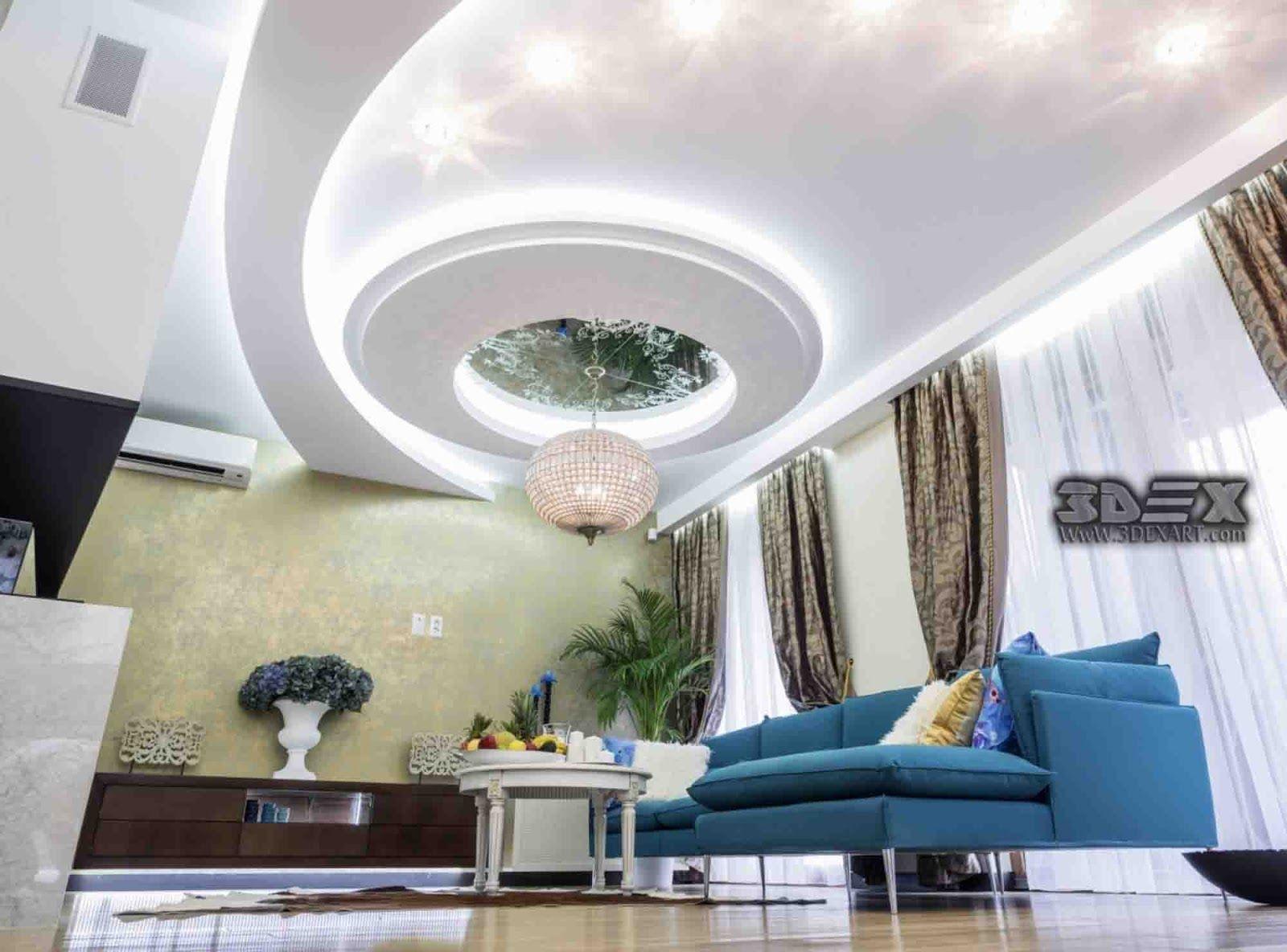 POP false ceiling designs 2018 for hall POP roof ceiling design for ...