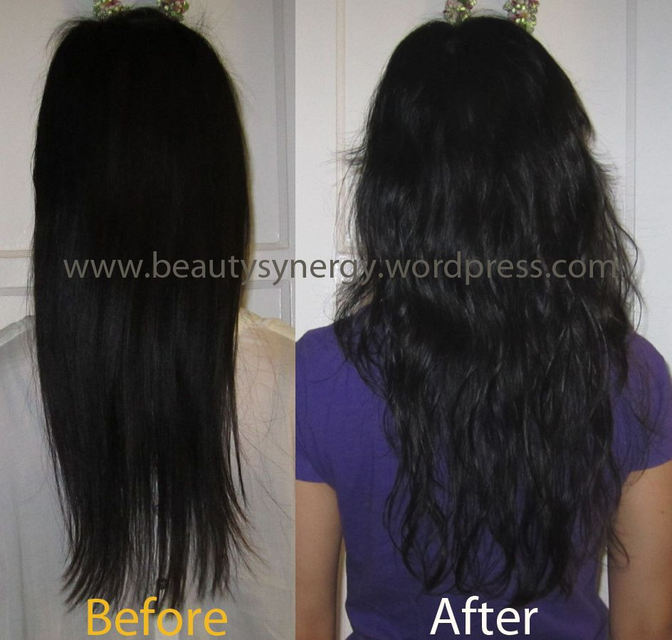Undo straight perm - My Hair Transformation Loose Curl Hair Perm