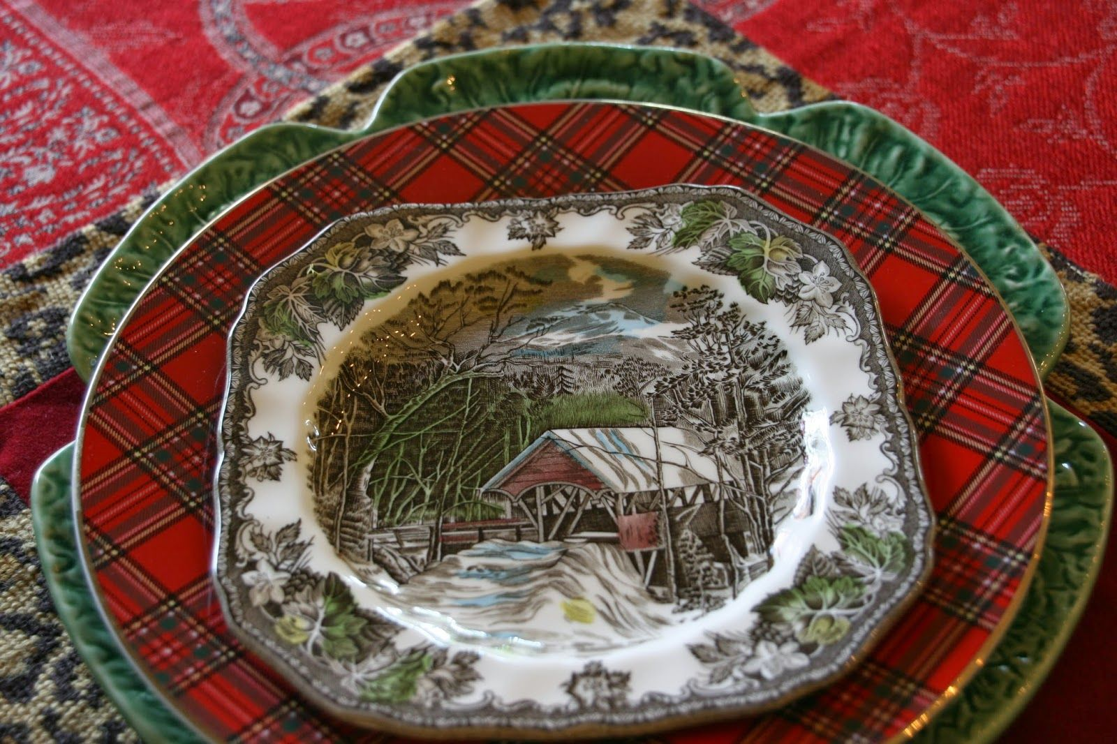 vignette design: For The Love Of Transferware And A Giveaway!