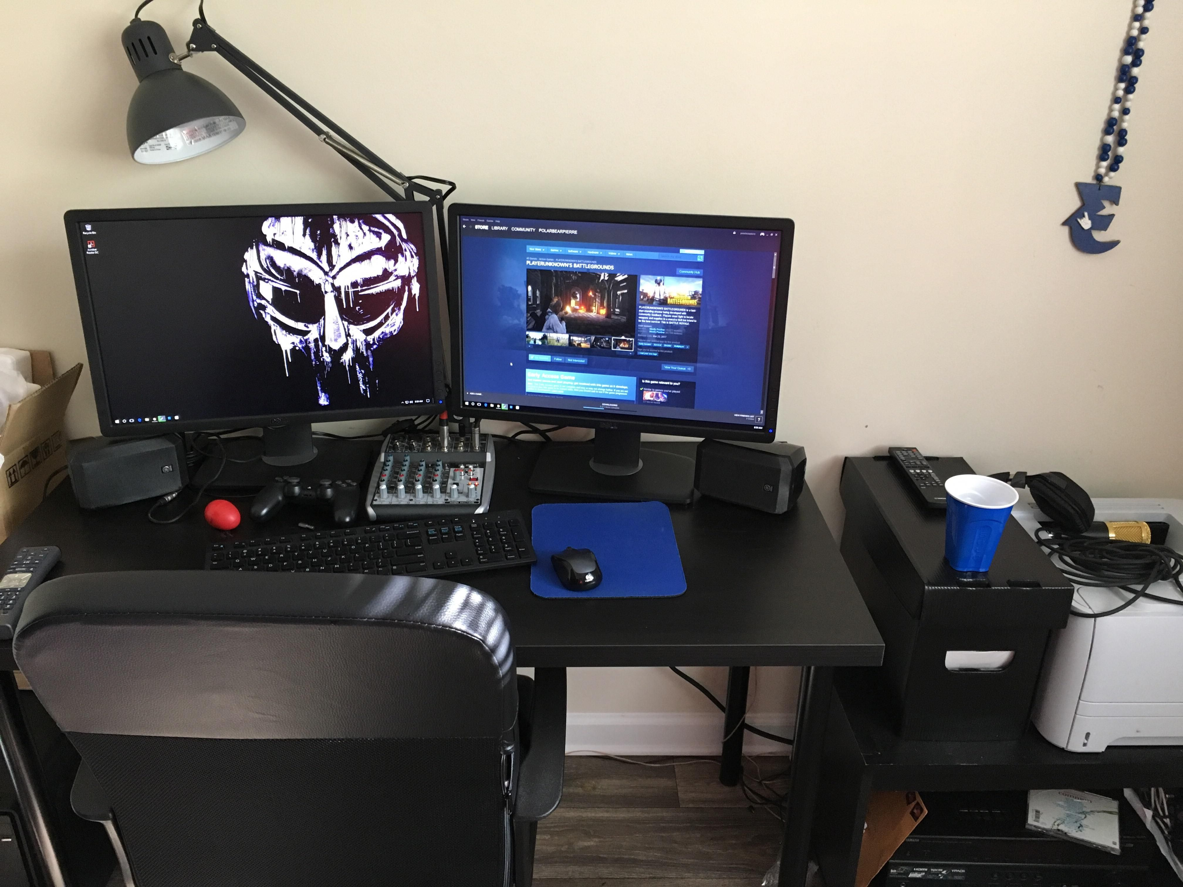 Phase 1 of the battle station Time to game