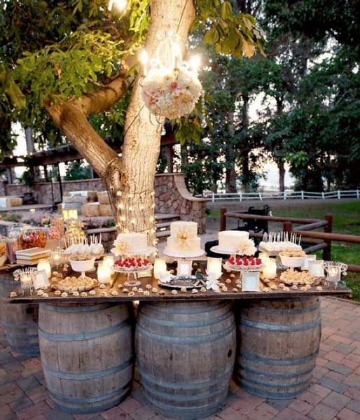 Backyard Wedding Receptions