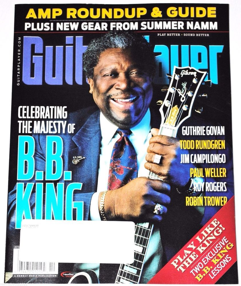 GUITAR PLAYER MAGAZINE October 2015 | eBay Listings For 2017 ...