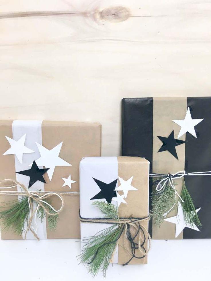 DIY-Dekoration ° So kannst du Geschenke für Weihnachten besonders schön verpacken #geschenkeverpacken