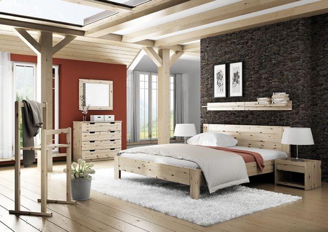 Ložnice ZIRBE Inspiration - interior 2 Pinterest - zirbenholz schlafzimmer modern