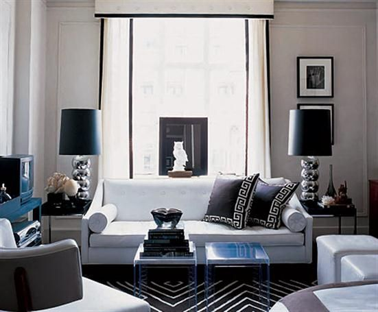 Decorpad Living Rooms | Black White  Trends   Living Room