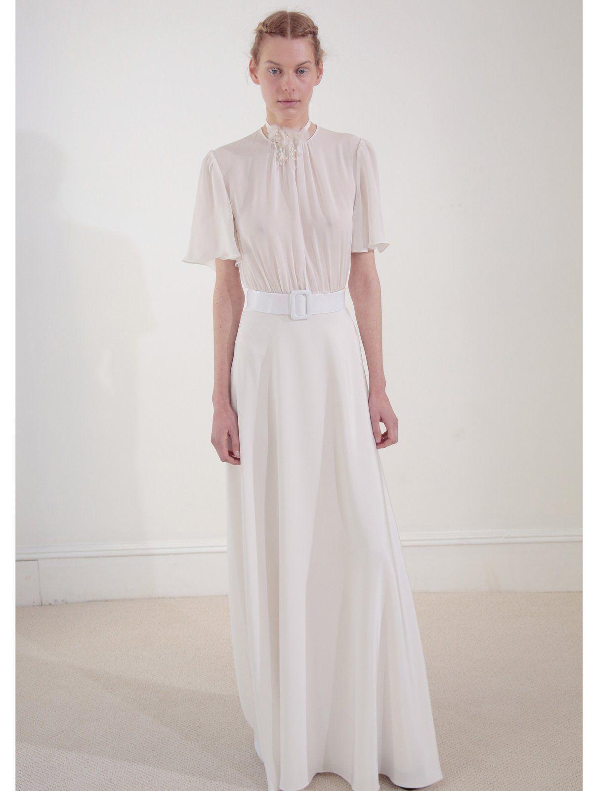 Unkonventionelle Brautkleider | Pinterest | schlichtes Brautkleid ...