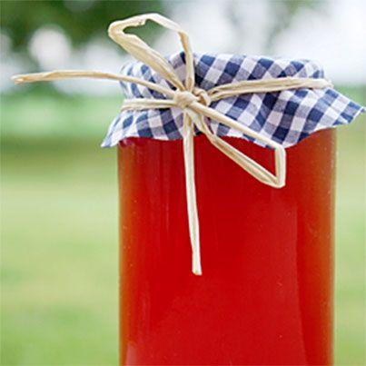 Easy Homemade Cherry Vinegar