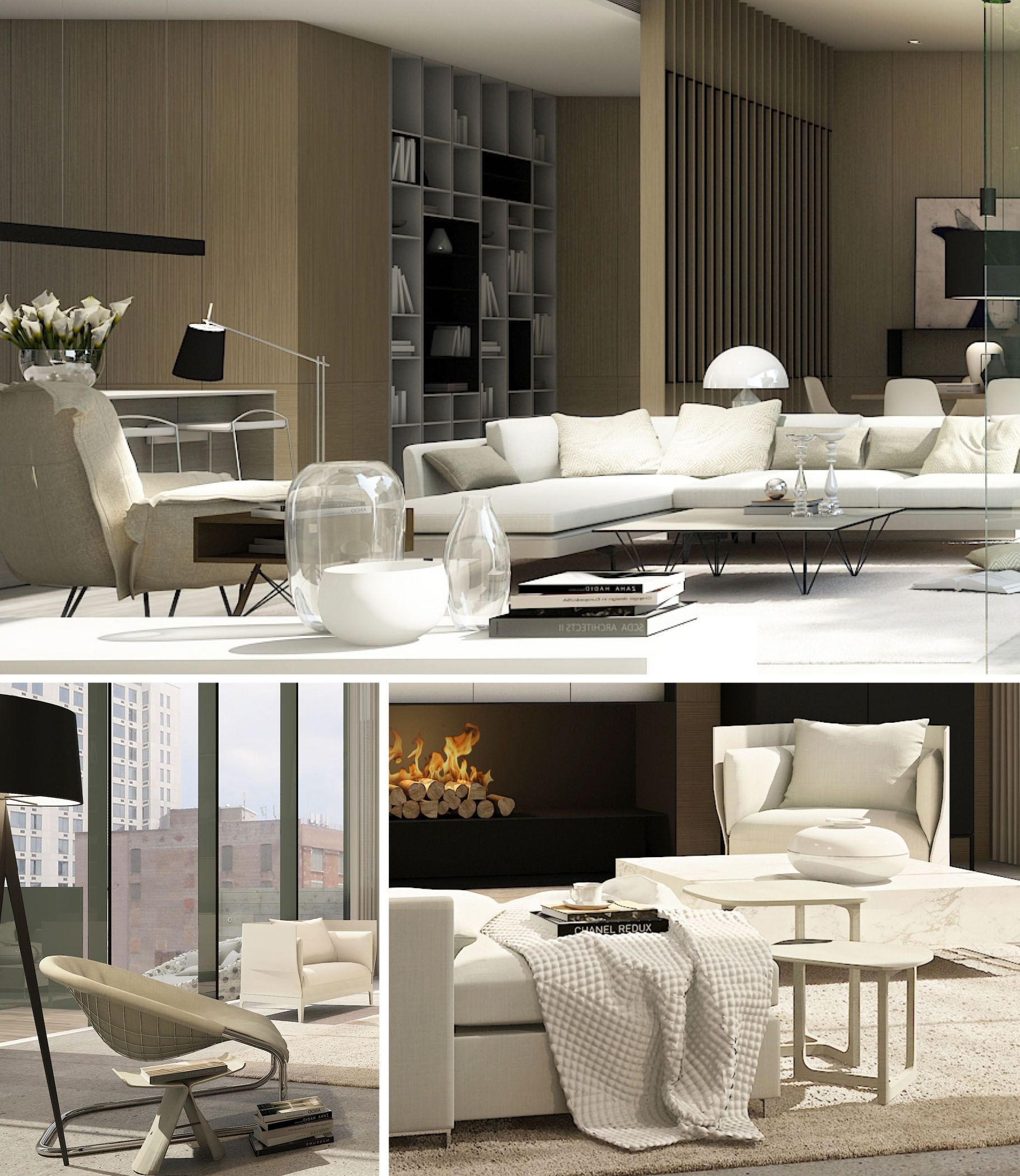 New Home Designs Latest Luxury Living Rooms Interior: SCDA Soori High Line, New York
