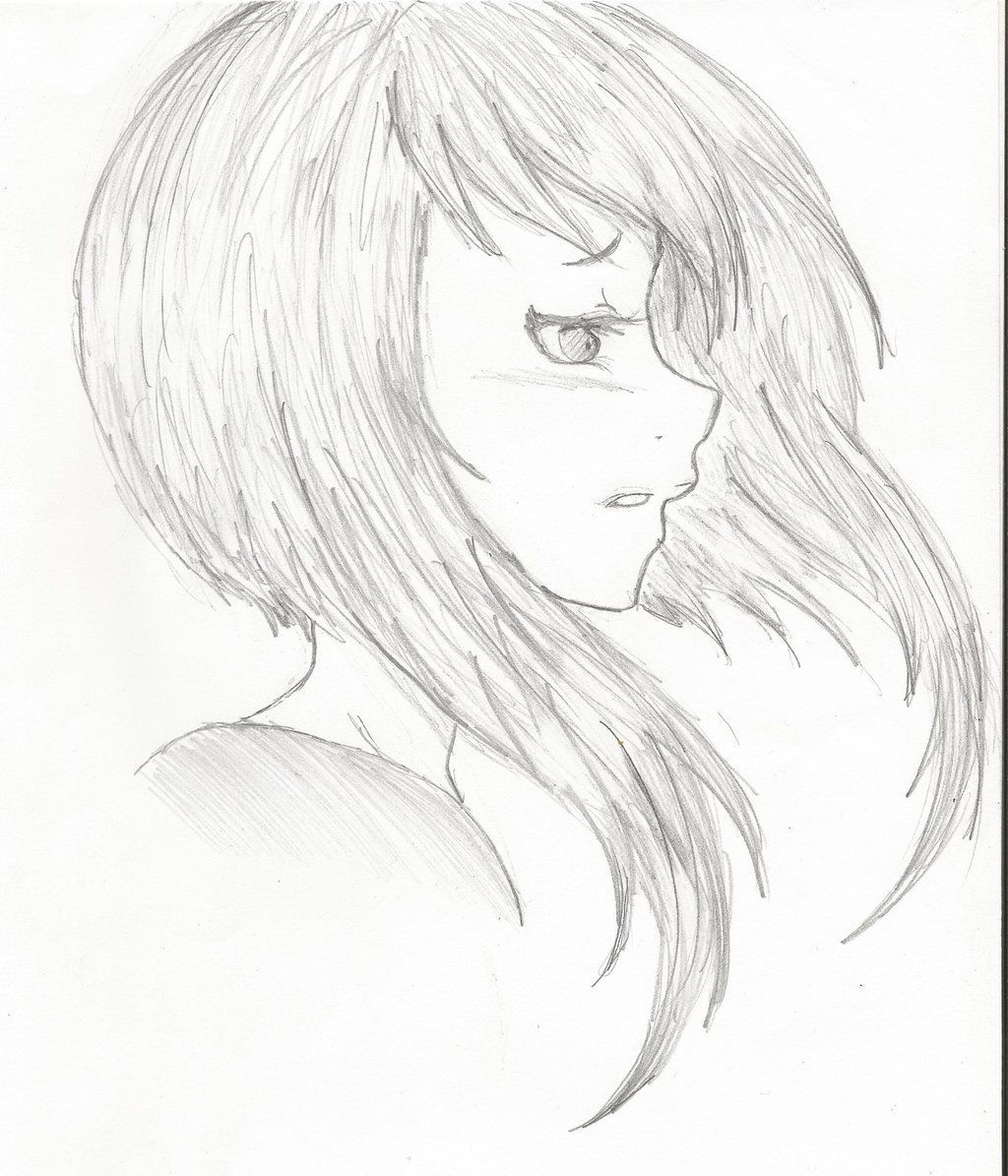 1024x1195 Girl Face Side View Drawing Girls Face Drawing Side View Anime Side View Girl Face Drawing Side View Of Face