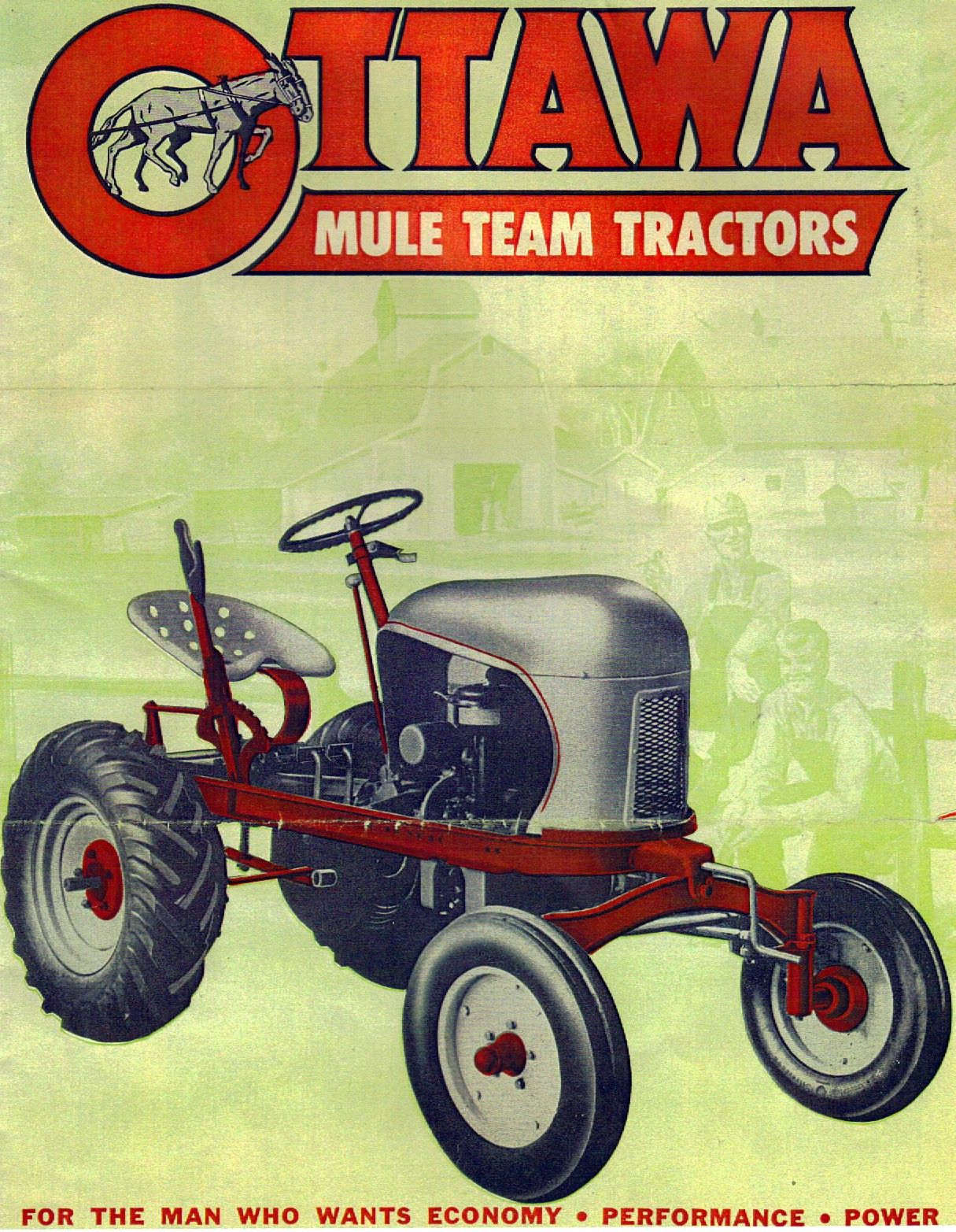 Old Tractors For Sale : tractors, Ottawa, Tractor, Sales, Literature, Tractors,, Tractors, Sale,