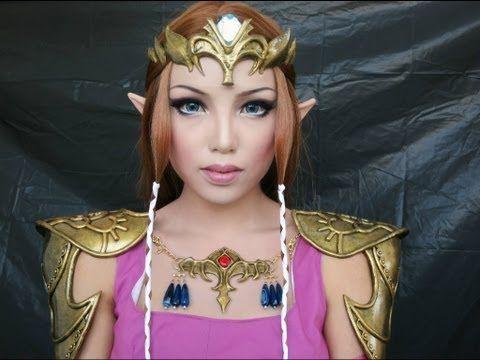 Princess Zelda Make,up Transformation