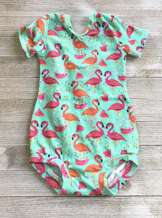 76a234321 Pink Flamingo Leotard