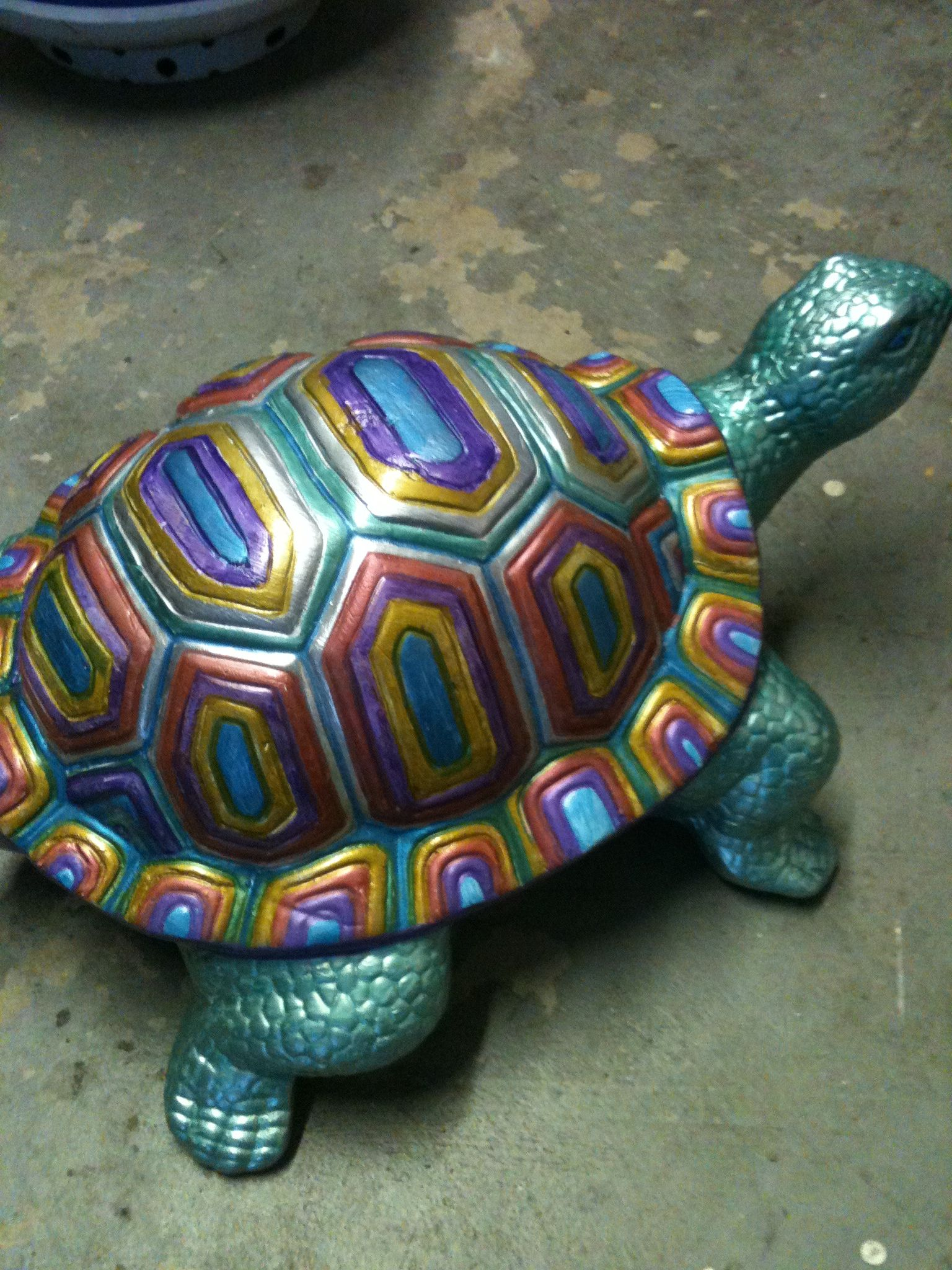 Painted Turtle Sns Designs Turtle Painting Turtle Art Pottery Painting