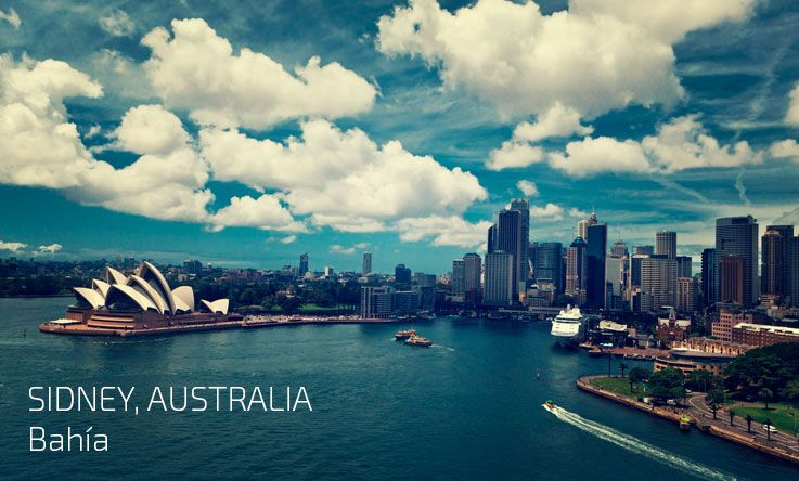 Bahia de Sidney, otro destino de Hi international studies para estudiar en el exterior.