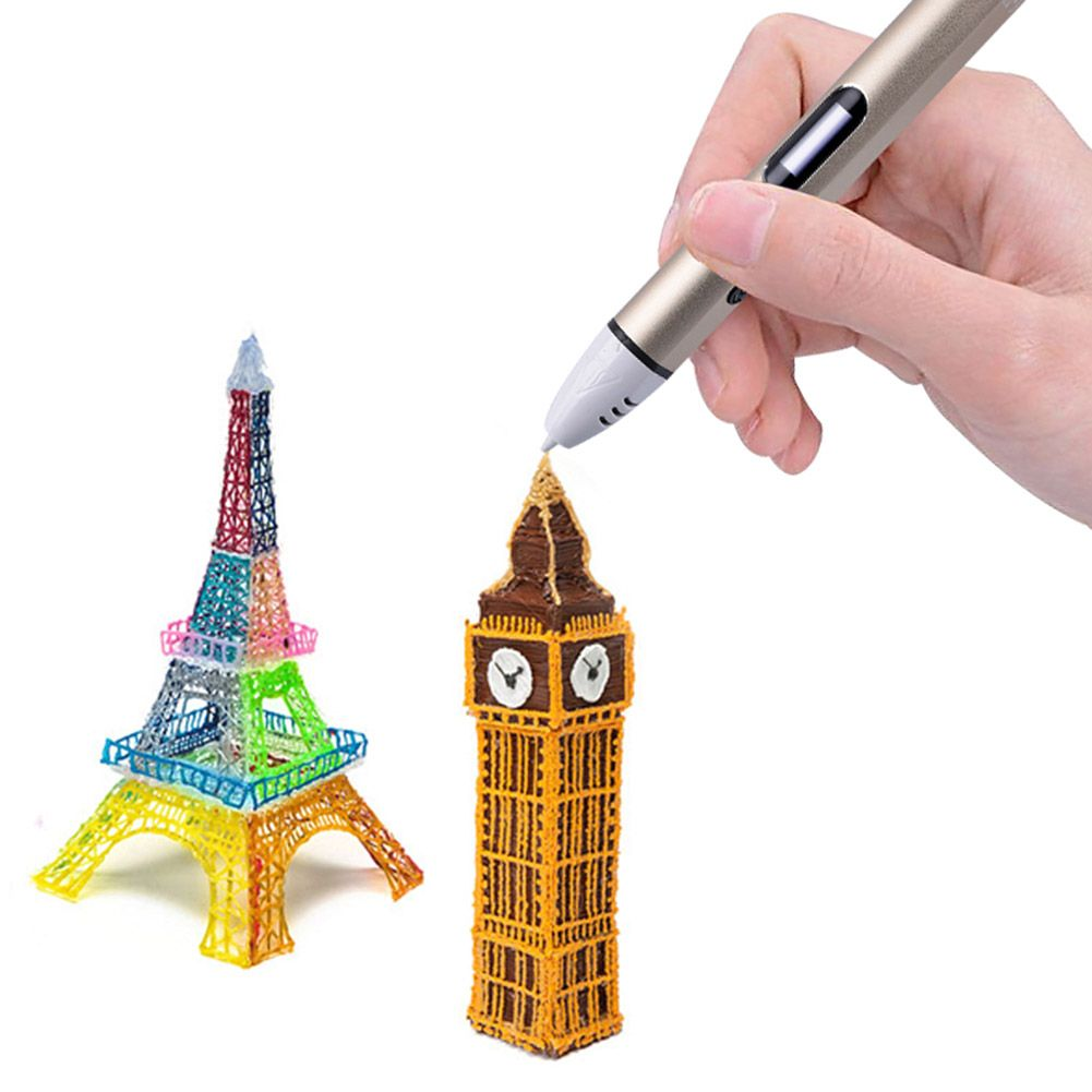 Click To Buy 4 Color 3d Printing Pen With Free Filament 3d Pen Best Gift For Kids Printer Pens Education Drawing Toys Drawing Toys Gifts For Kids 3d Pen