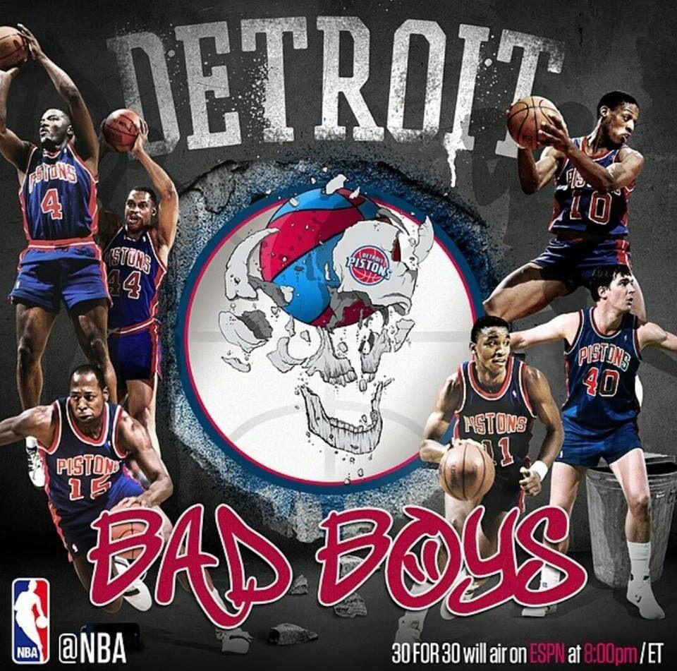 Bad Boys Detroit from 8990 Detroit pistons bad boys