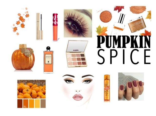 """Fall Explosion"" by eviegrace2002 ❤ liked on Polyvore featuring beauty, Lime Crime, tarte and Serge Lutens"