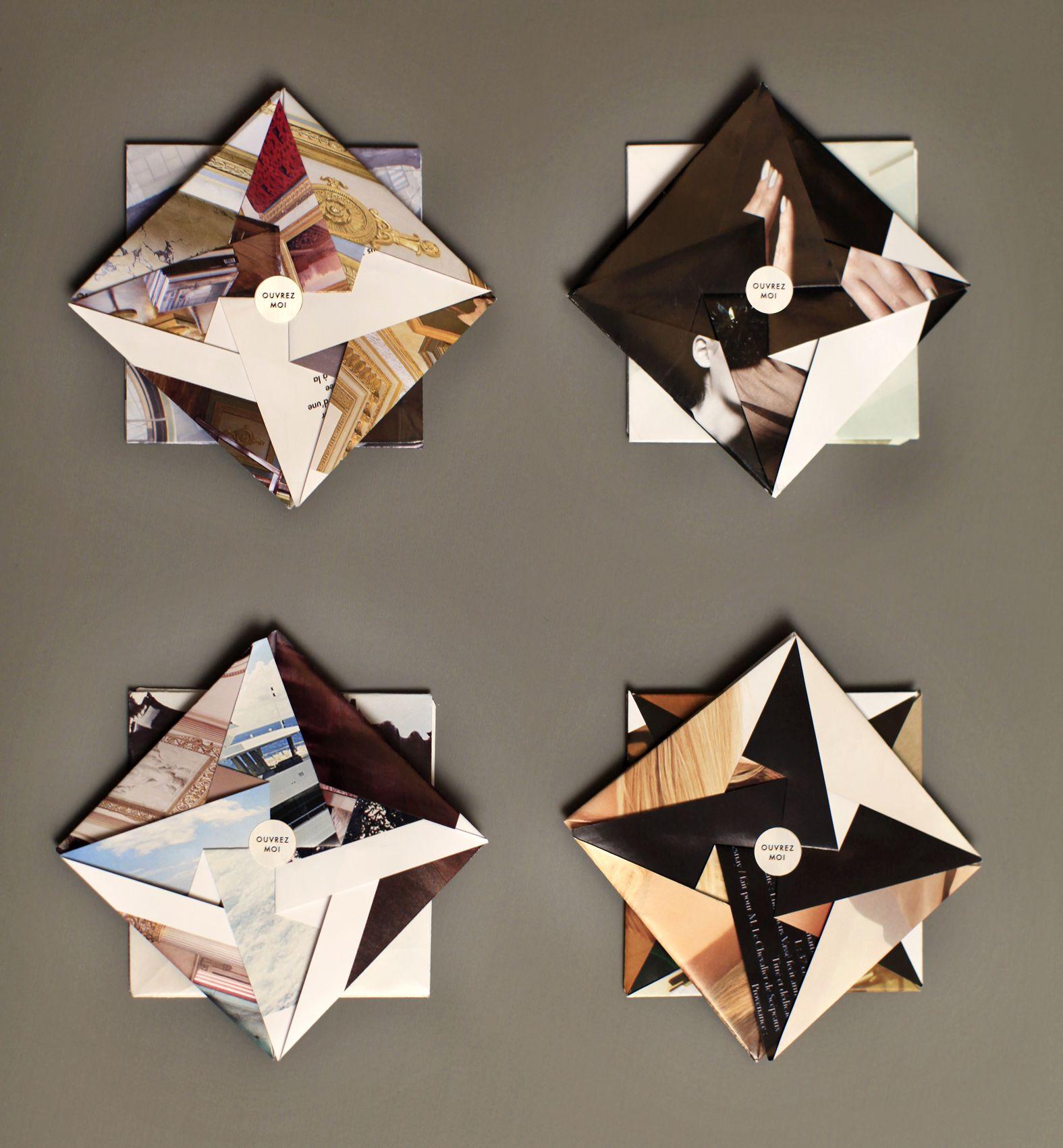 Origami folded books
