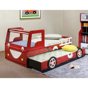 Costco Red Fire Truck Bed With Trundle