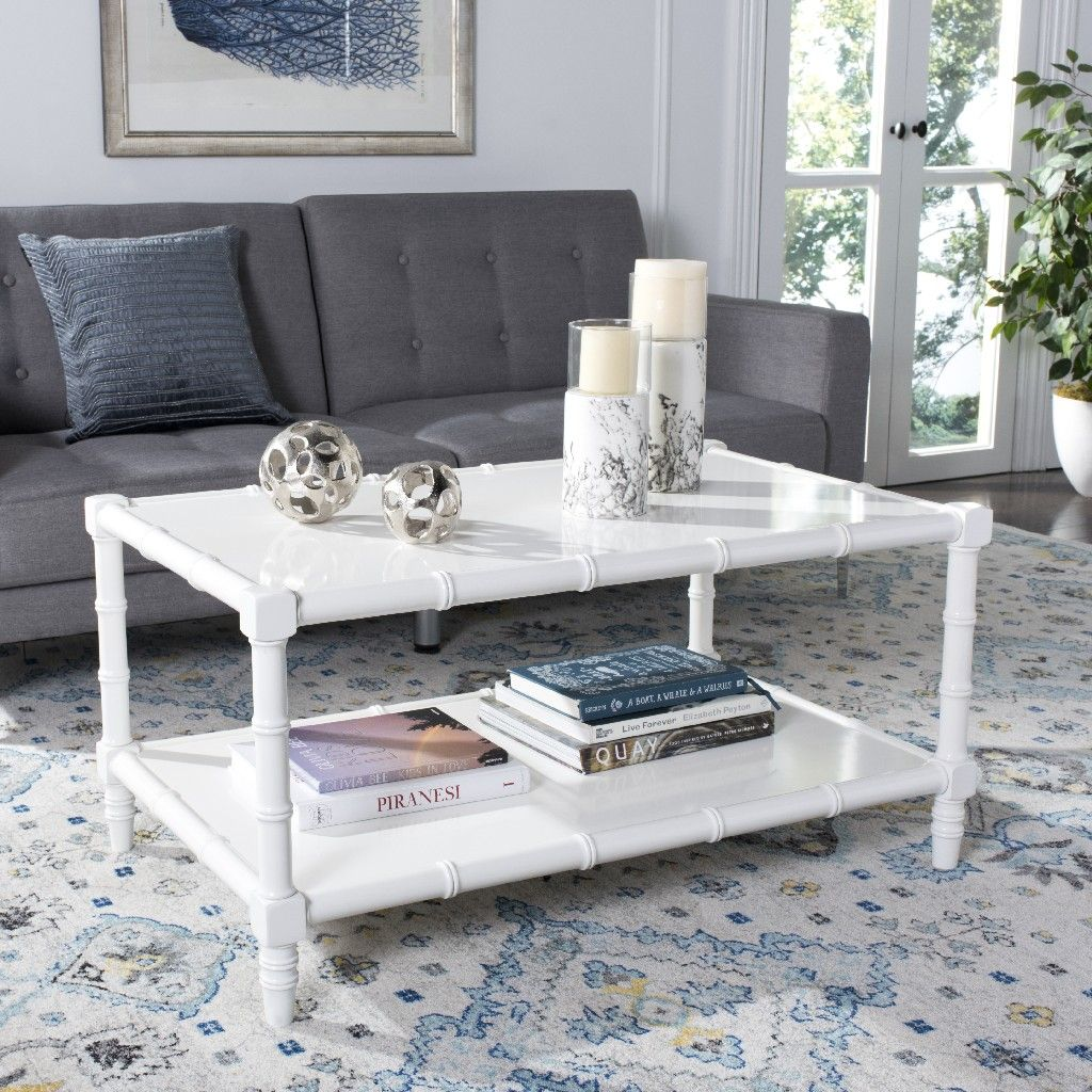 26+ White acrylic round coffee table trends