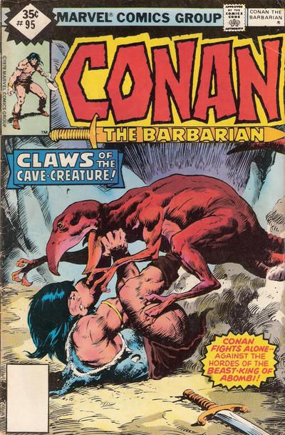 Cover for Conan the Barbarian (Marvel, 1970 series) #95