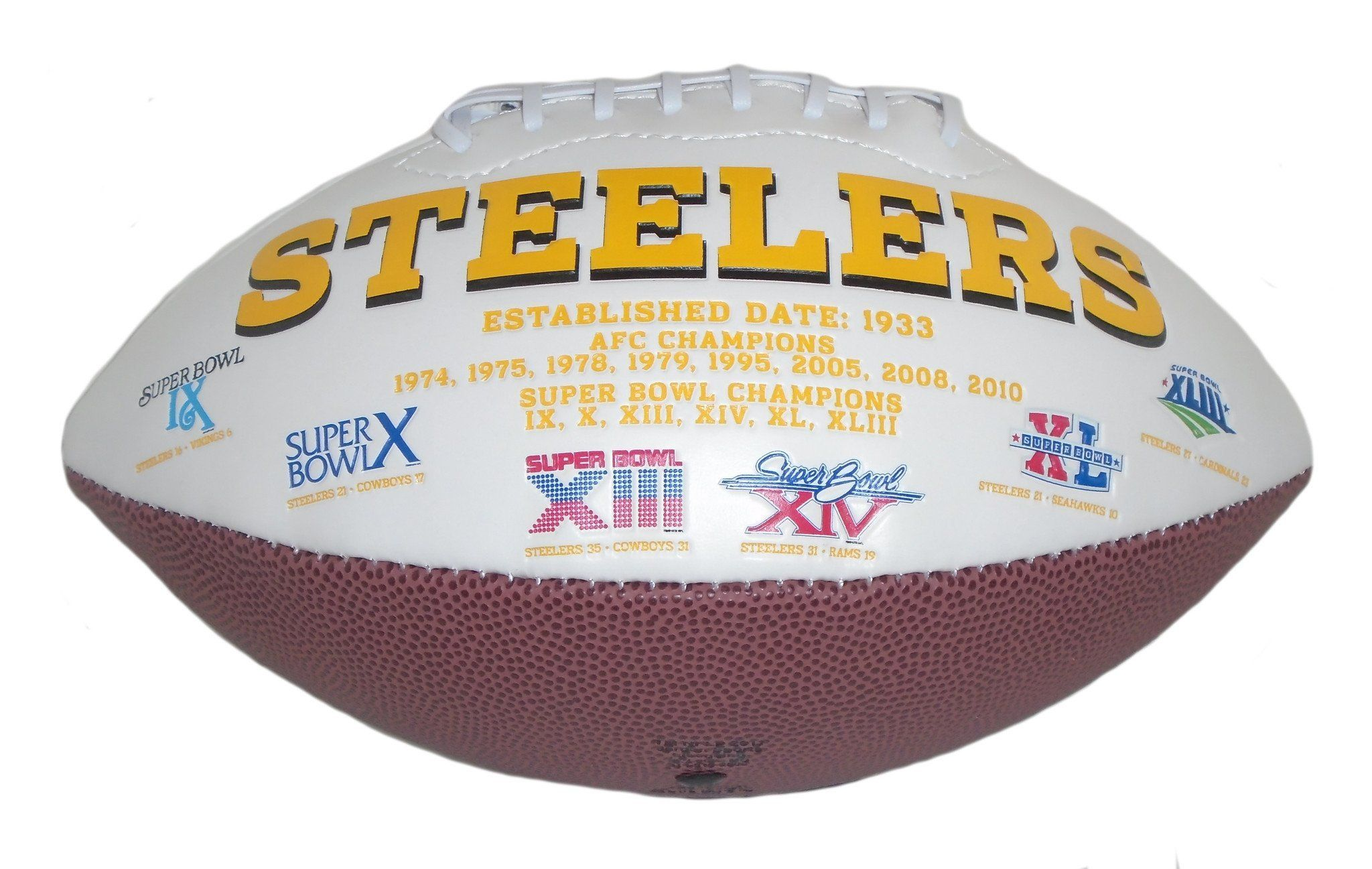 0adfb90628e This is a brand-new Hines Ward signed Pittsburgh Steelers logo football. Hines  signed