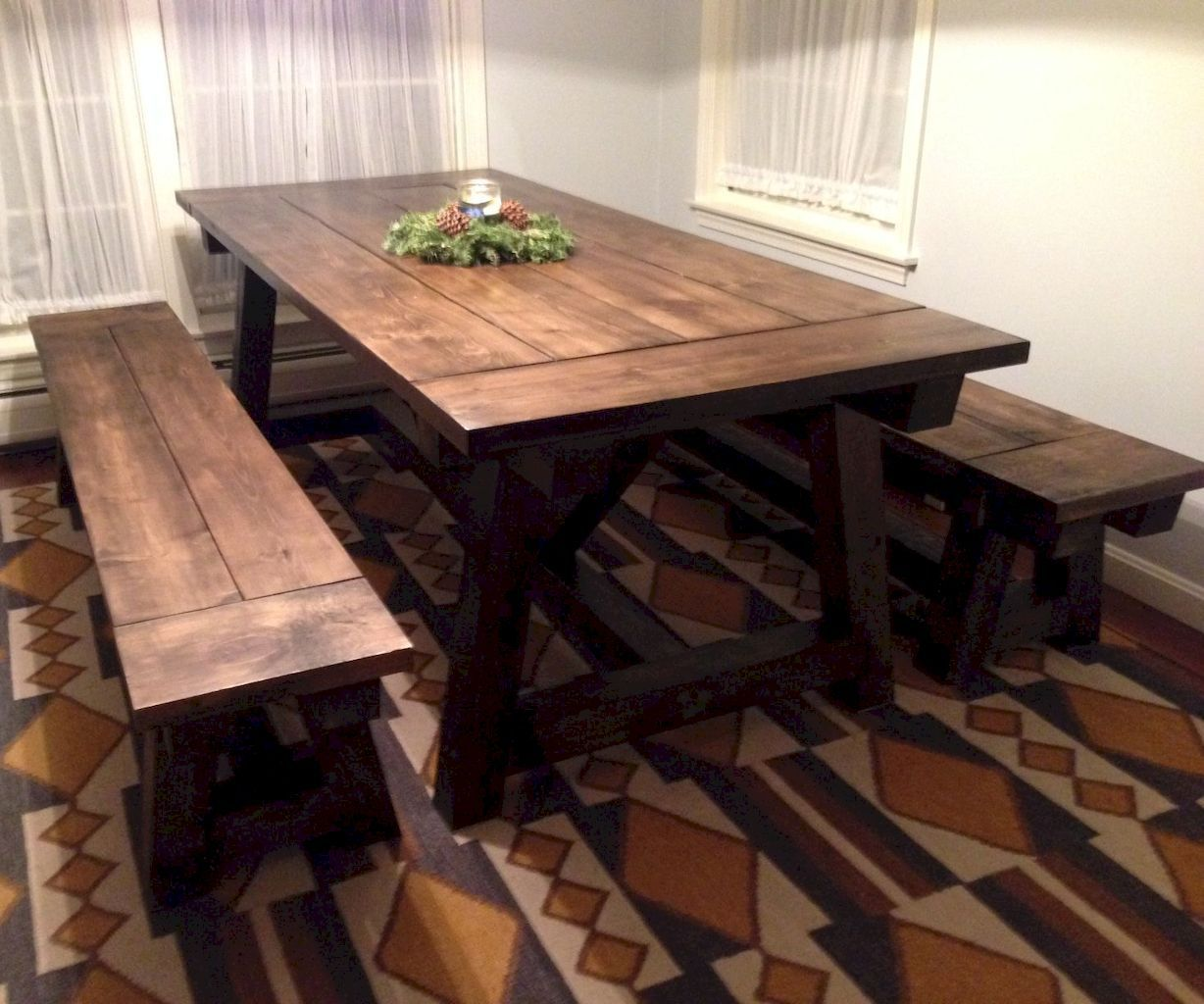 Enhance Dinning Room With Farmhouse Table Home To Z Farmhouse Dining Table Build A Farmhouse Table Farmhouse Dining Room Table