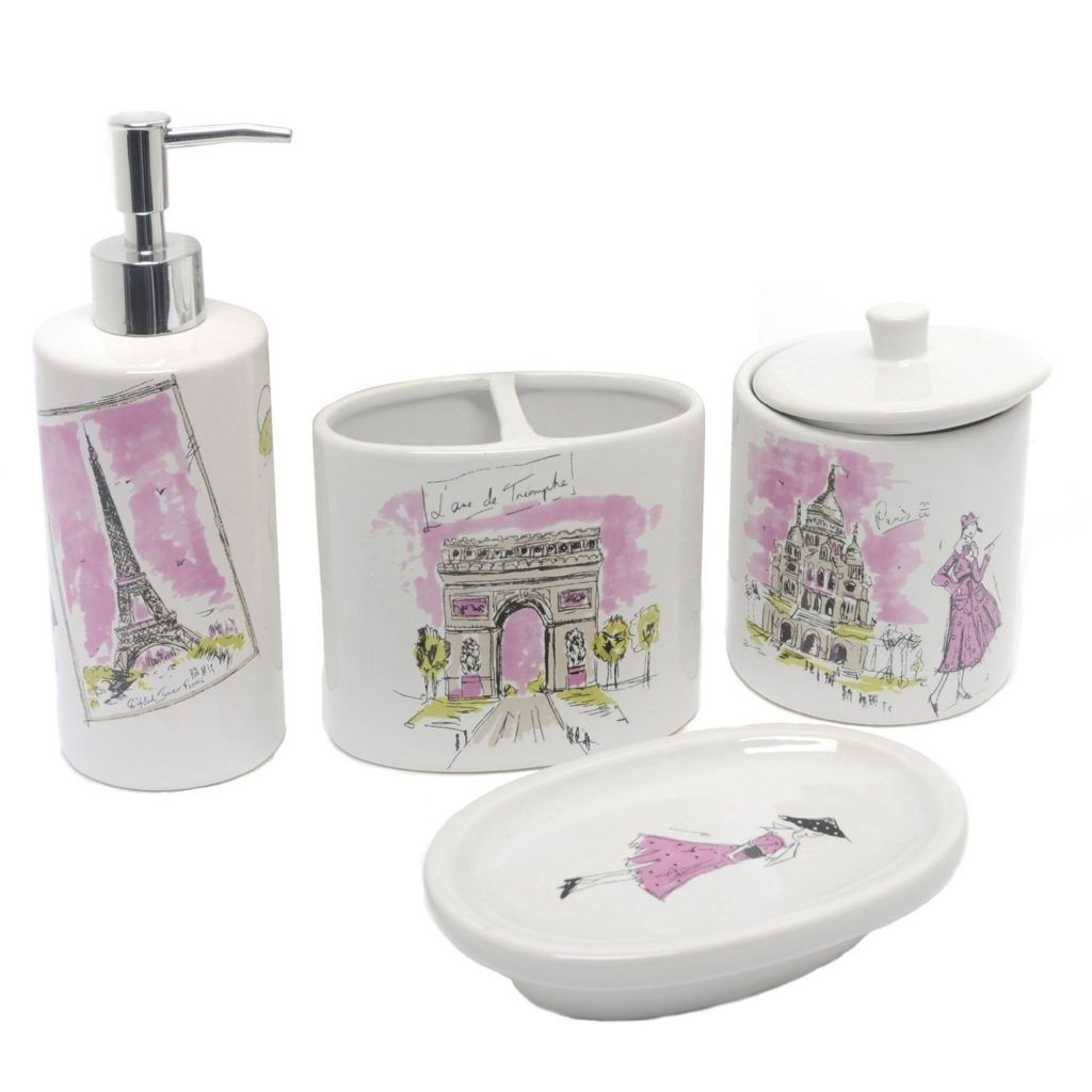 Paris Bathroom Accessories Sets With Images Bathroom