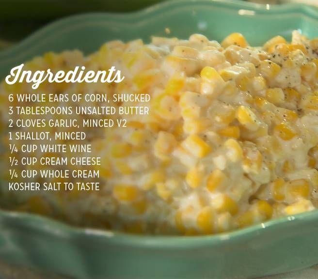 Naughty Creamed Corn | Paula Deen