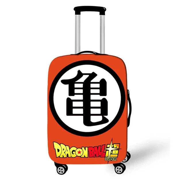 Master Roshi Kanji Dragon Ball Super Suitcase Cover Suitcase Cover Dragon Ball Luggage